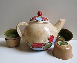 Nádoby - čajník kamienkový - 5005563_