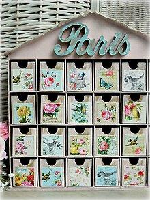 Krabičky - Paris garden šperkovnica - 5006953_