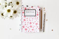 Papiernictvo - notes // ruže - 5005202_