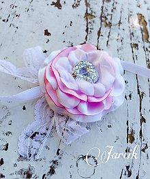 Pierka - Romantický náramok pre družičku - 5008750_