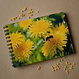 Papiernictvo - Zápisník malý - Plné vrecká peľu - 5007418_