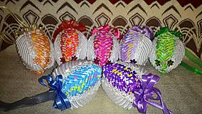 Veľká Noc - veľkonočné vajíčka s motýľmi - 5013421_