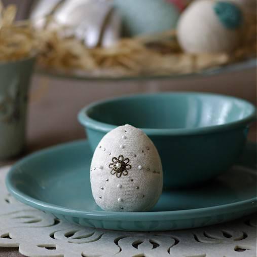 Dekorácie - veľkonočné vajko *4 - 5009841_
