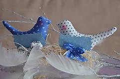 Dekorácie - Vtáčence menovka - 5012424_