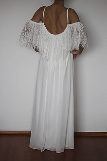 Šaty - Spoločenské šaty Anjel s volánom - 5012693_