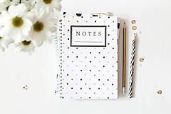 Papiernictvo - notes // bodkovaný - 5011348_