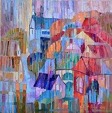 Obrazy - V daždi - 5010880_