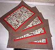 Úžitkový textil - Prestieranie - Kuchyňa. - 5010199_