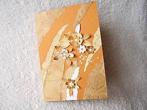 Papiernictvo - Pohľadnica, okrová lúčka - 5010948_