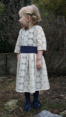 Detské oblečenie - Čipkovaná  (družička) - 5016279_