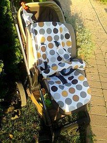 Úžitkový textil - Trojitý set na kočík Jané Muum - 5018029_