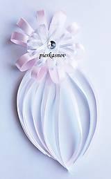 Svadobné pierko ružová margarétka