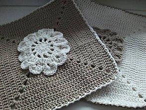 Úžitkový textil - *** chňapka - kvietok *** - 5019646_