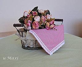 Úžitkový textil - Obrúsok - 5020457_