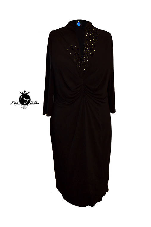 Šaty Goldie   Stefi Fashion - SAShE.sk - Handmade Šaty 0feabc3412d