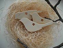 Dekorácie - Vtáčatá - 5022035_