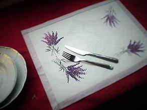 Úžitkový textil - Levanduľové prestieranie - 5025663_
