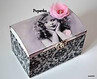 Krabičky - Zamyslené dievčatko - 5024770_