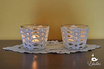 Svietidlá a sviečky - Sklenený svietnik Cressy - 5023363_