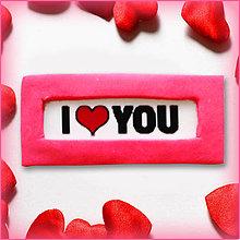Magnetky - I ♥ YOU - 5022575_
