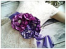Opasky - Opasok purple rain - 5028614_