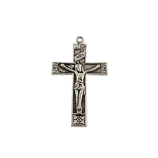 PRI5951, PRÍVESOK Kríž StaroSTRIEBRO /1ks