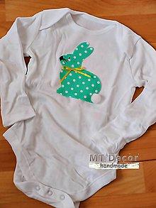 Detské oblečenie - zajošik  detské body  - 5028150  987ffd4500b