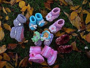Topánočky - Pre  Kvetinku - 5029952_