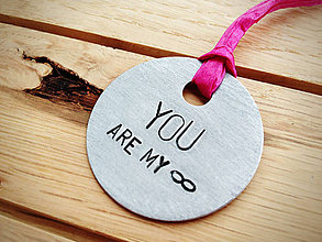 Kľúčenky - YOU ARE MY INFINITY - 5033716_