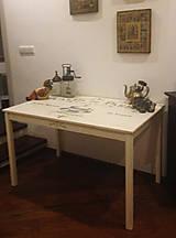 Nábytok - Stôl kuchynský...švédsky bracho... - 5034137_