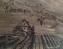 Nábytok - STÔL kuchynský...Vinohradník... - 5034928_