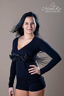 Tričká - Dámske tričko dlhý rukáv - 5033397_