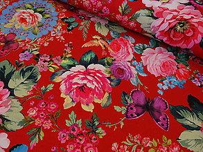 Textil - bavlnené látky -NOVINKA-Francúzko- 3D - 5033353_