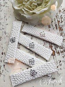 Darčeky pre svadobčanov - Svadobná žuvačka {Silver butterfly} - 5032744_