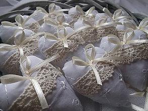Darčeky pre svadobčanov - srdiečká na rédový tanec - 5033283_