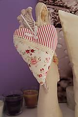Dekorácie - srdiečko s vonou levandule romantické - 5038734_