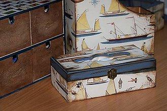 Krabičky - Zásobník na vreckovky - 5036442_