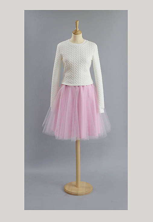 Tylová sukňa ...NEW..bledo ružová   ZuzanaZachar - SAShE.sk ... 2c983ca689