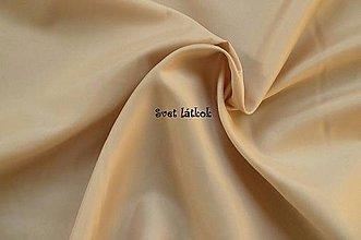 Textil - Podšívka polyesterová béžová - 5043874_