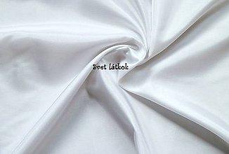 Textil - Podšívka polesterová biela - 5043884_