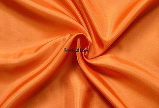 Textil - Podšívka polyesterová oranžová - 5043974_