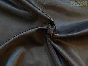 Textil - Podšívka polyesterová čierna - 5044051_