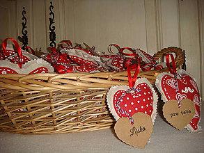 Dekorácie - Valentínske srdce - 5048767_