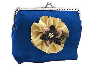 Kabelky - Spoločenská kabelka modrá 13952A - 5046711_