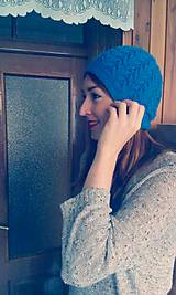 Čiapky - čiapka modrica - 5048026_