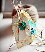 Papiernictvo - Visačky scrapbookové VII. - 5046106_