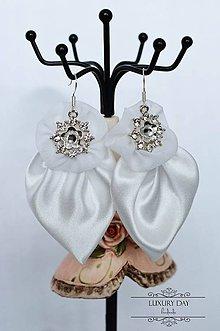 Sady šperkov - náušničky saténové - 5044561_