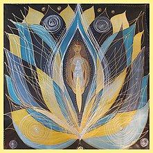 Obrazy - Bohyňa Vesmírnej geometrie - 5045832_