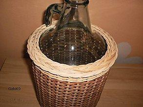 Nádoby - Opletená 5-litrovka - 5046977_