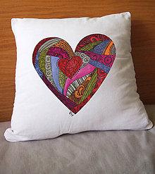 Úžitkový textil - Piece of my heart - 5047463_
